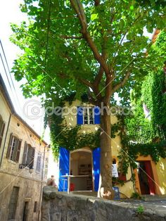 A street of Arles, France