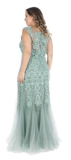 Comprar Vestido Sereia com Bordado Mile - Dolps