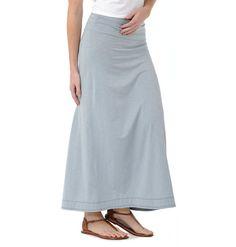 Looks sooooo comfy! Horny Toad Activewear ~ Women's Chakalaka Skirt ~ Tencel & Cotton Skirt