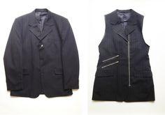 DIY Plan B  a n n a · e v e r s from blazer to waistcoat 2.0