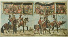 Albrecht Altdorfer (c. 1480 -1538), Hans Burgkmair (1473-1531), Albrecht Dürer (1471-1528) & others — Triumphal Procession, 1517 (1500x835)