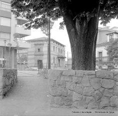 Plaza Tellagorri, conocida como Plaza del Tilo, años 70 (Colección Eugenio Gandiaga) (ref. SC1320)