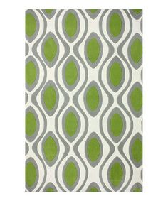 Look what I found on #zulily! Green Rupert Rug by nuLOOM #zulilyfinds