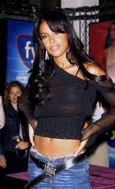 Aaliyah - raised in detroit - RIP