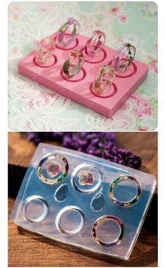Resin Crafts Discover Ring silicone mold Resin mold Jewelry mould Rings mold size US 2 Transparent clear flexible mold DIY ring Diy Resin Art, Diy Resin Crafts, Jewelry Crafts, Stick Crafts, Resin Molds, Silicone Molds, Resin Jewelry Molds, Resin Jewlery, Beaded Beads