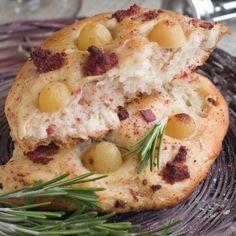 Sundried Tomato Focaccia Bread ,navrazvam tehni4eski savsem li4no za Boiko