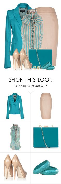 A fashion look from February 2015 featuring silk blouse, lapel jacket and faux leather skirt. Browse and shop related looks. Fashion Now, Office Fashion, Womens Fashion, Fashion Trends, Professional Outfits, Professional Women, Business Outfits, Business Fashion, Style Retro