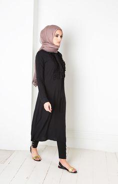 asics nouvelle collection eté 2018 de chemise longue hijab fashion