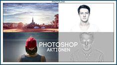 PHOTOSHOP AKTIONEN // FREE DOWNLOAD schärfen Hochpass