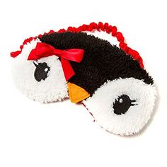 Amazon.com : Claire's Accessories Fuzzy Penguin Sleep Mask : Beauty