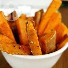 Batata-doce assada com gengibre e mel @ allrecipes.com.br