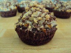 Almond Joy* Brownie Bites