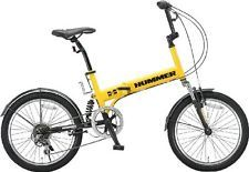 Hummer 20 Polegadas Shimano 6 Velocidades Bicicleta Dobrável Fdb206 W-Sus