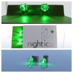#HappySt.PatricksDay! Get your #greenon with #NightIce earrings!! www.Night-Ice.com