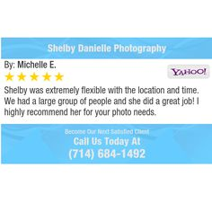 Shelby was extremely flexible with the location and time. We had a large group of people...