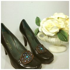 Designer Vince Camuto Imagine Pumps Leather