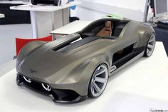 Bentley concept by Tom Ansell