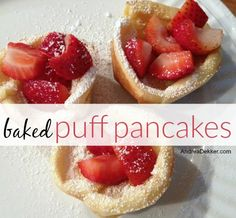 Baked Puff Pancakes