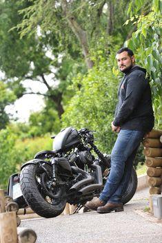 48 Harley bobber arcadia tribute