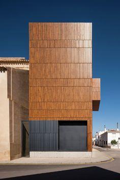 Gallery - Renovation of the Oscense Theatre / Julia González Pérez-Blanco + Miguel Bretones del Pozo - 9
