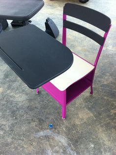 Old school desk restored