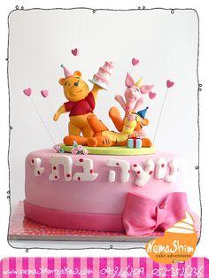 pooh's birthday cake by nemashimcakes, via Flickr