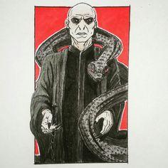 Harry potter drawing Voldemort drawing Fanart #voldemort #voldemortdraw #harrypotter #harrypotterdrawing #deviantart #fanart