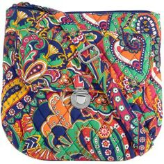 Vera Bradley Saddle Hipster in Venetian Paisley - products - Fashion Review Product