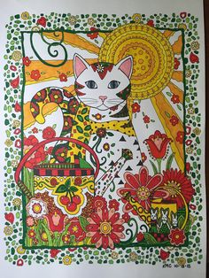 creative haven creative cats coloring book pdf - Google Search