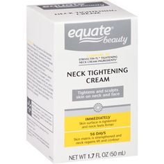 Equate Beauty Neck Tightening Cream, 1.7 fl oz