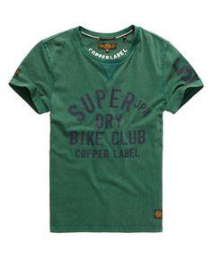 Superdry Copper Label Cafe Racer T-Shirt