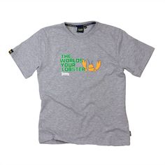 The WORLDS YOUR LOBSTER GREY MARLE MENS T-SHIRT No description http://www.MightGet.com/january-2017-11/the-worlds-your-lobster-grey-marle-mens-t-shirt.asp