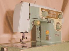 Janome New Home Model 702 Restored Sewing by StagecoachRoadSewing