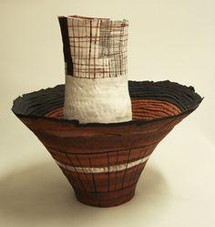 red - vessel - Helen Fuller  -  Teracotta