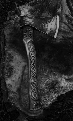 Axe- another weapon in the Searchers armory.