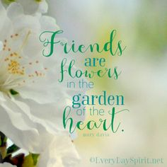 Friendship Is Like A Flower With Love Care It Quotes I Love