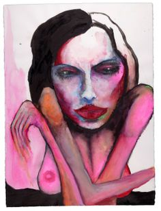 Valentines Day Painting by Marilyn Manson Arte Marilyn Manson, Marilyn Manson Paintings, Horror Picture Show, Arte Horror, Look At You, Pretty Art, Erotic Art, Beautiful Paintings, Alter Ego