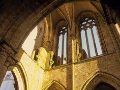 Les ruines de l'abbaye de Saint-Mathieu, Finistère