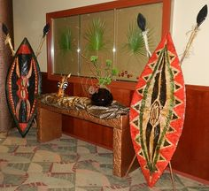 1000 images about african themed family reunion on for African party decoration