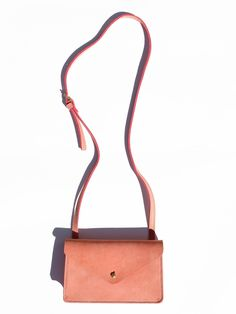 The Fulton Cross Body bag has a built in wallet with long, 1/2 inch chest strap…