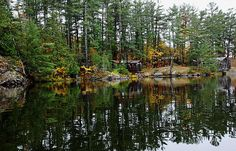 Camp On The River - French River Ontario Canada