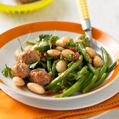 Bohnensalat+mit+Tunfisch