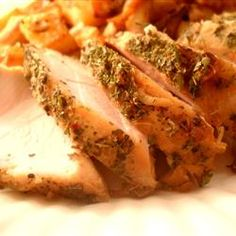 CrockPot Turkey Breast Dinner Recipe-- Clean Eating Style (I cut up onions & peppers and did not use onion soup mix or season salt)