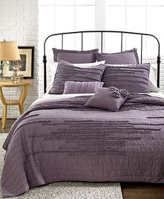 Nostalgia Home Bedding, Neveah Purple Quilts THIS IS THE BEDDING, HOPE