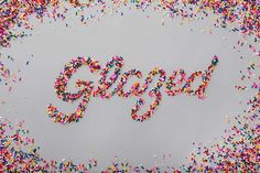 Designing with Food | my love for sprinkles and type unite