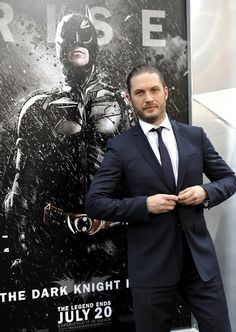 Tom looking particularly doable at TDKR NYC premier