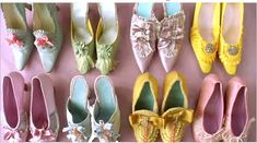 marie antoinette candy colored shoes