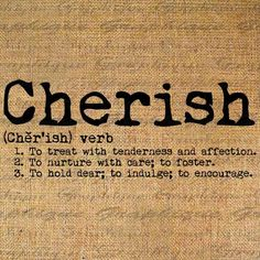 Cherish (v) to treat with tenderness and affection Words Quotes, Wise Words, Me Quotes, Sayings, Intuition, Script, A Lovely Journey, Cherish Quotes, The Desire Map