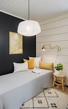 Ikea Bedroom, Two Bedroom, White Washed Pine, Cornwall Cottages, Inside A House, Ideas Para Organizar, Extra Rooms, Home Decor Kitchen, Wall Colors