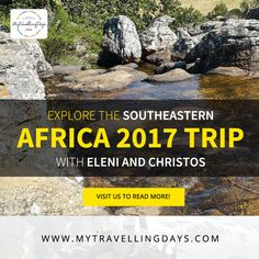 Explore the Southeastern Africa 2017 Trip with Eleni and Christos We are not just a tour & travel company but we actually are couples who are passionate about travelling, exploring and experiencing itself. Travel Companies, Thessaloniki, East Africa, Africa Travel, Exploring, Travelling, Travel Tips, Tours, Adventure